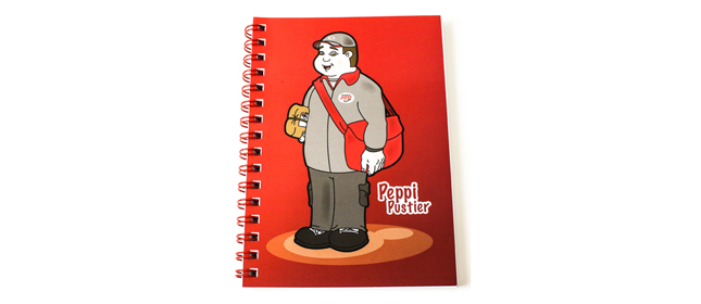 Notebook: Peppi Red